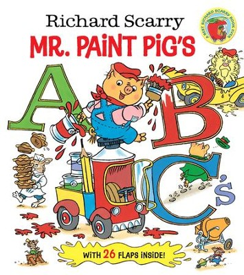 Richard Scarry Mr. Paint Pig's ABC's (Richard Scarry) - eBook  -     By: Richard Scarry