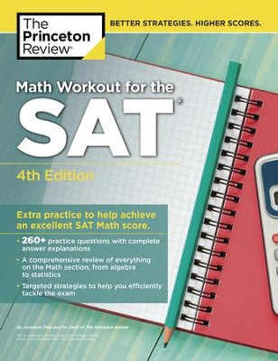 Math Workout for the SAT, 4th Edition - eBook  -     By: Princeton Review