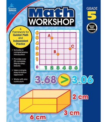 Math Workshop, Grade 5: A Framework for Guided Math and Independent Practice  -     By: Elise Craver