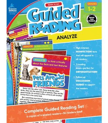 Ready to Go Guided Reading: Analyze, Grades 1 & 2  -     By: Jeanette Moore