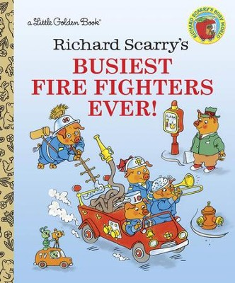 Richard Scarry's Busiest firefighter Ever! - eBook  -