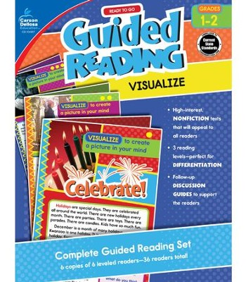 Ready to Go Guided Reading: Visualize, Grades 1 & 2  -     By: Jeanette Moore