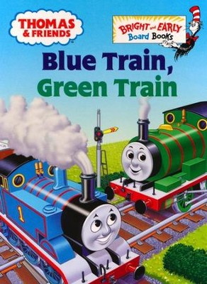 Thomas & Friends: Blue Train, Green Train  -     By: Rev. W. Awdry     Illustrated By: Tommy Stubbs