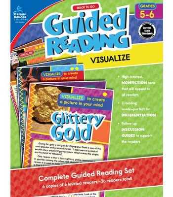 Ready to Go Guided Reading: Visualize, Grades 5 & 6  -     By: Nancy Bosse