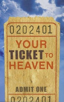 Your Ticket to Heaven (KJV), 25 Pack  -     By: Dr. Sumner Wemp