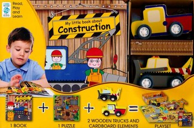 My Little Construction Site  -     By: Louise Buckens