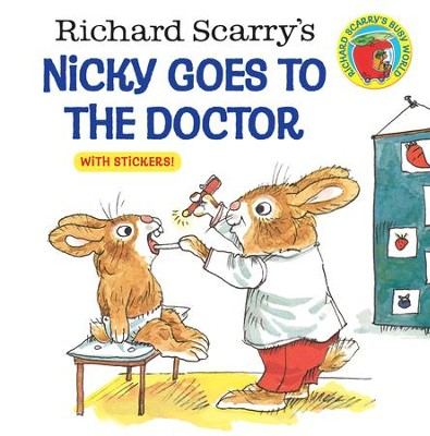 Richard Scarry's Nicky Goes to the Doctor (Richard Scarry) - eBook  -     By: Richard Scarry