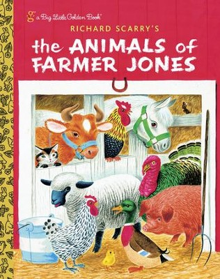 Richard Scarry's The Animals of Farmer Jones - eBook  -     By: Richard Scary, Leah Gale
