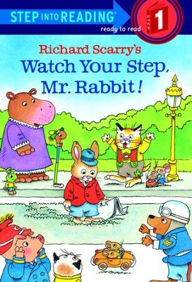 Richard Scarry's Watch Your Step, Mr. Rabbit! - eBook  -     By: Richard Scarry