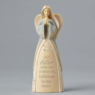 Foundations Prayer Angel, The Lord's Prayer  -     By: Karen Hahn