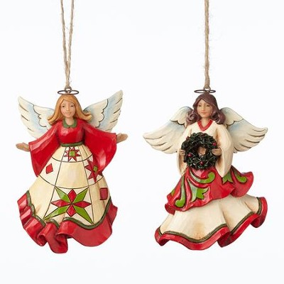 Joyful Angel Christmas Ornaments   -