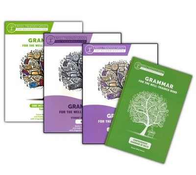 Grammar for the Well-Trained Mind Level 1 Complete Package  -     By: Susan Wise Bauer, Audrey Anderson