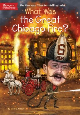 What Was the Great Chicago Fire? - eBook  -     By: Janet Pascal