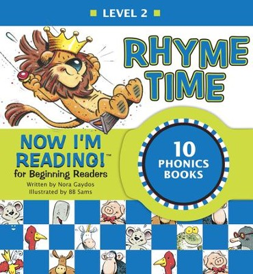 Now I'm Reading! Level 2: Rhyme Time - eBook  -     By: Nora Gaydos