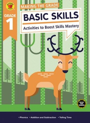 Making the Grade Basic Skills, Grade 1  -
