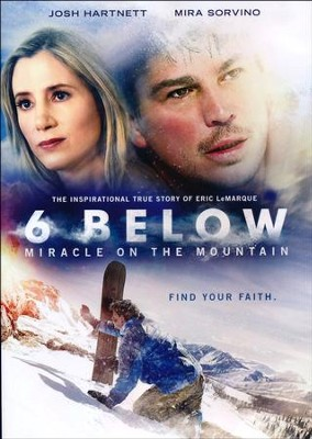 6 Below: Miracle on the Mountain, DVD   -