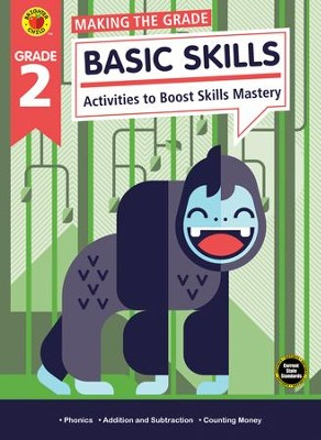 Making the Grade Basic Skills, Grade 2  -