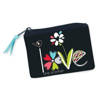 Love One Another Coin Purse  -     By: Amylee Weeks