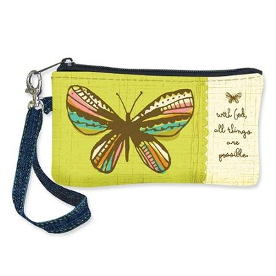 Believe In Possibilities, Butterfly Wristlet  -     By: Amylee Weeks