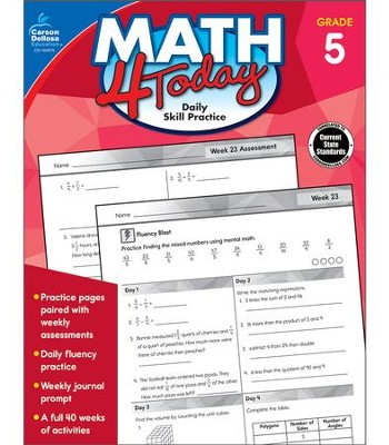 Math 4 Today, Grade 5  -