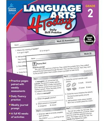 Language Arts 4 Today, Grade 2  -
