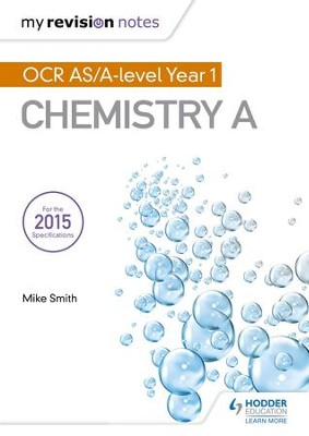 My Revision Notes: OCR AS Chemistry A Second Edition / Digital original - eBook  -     By: Mike Smith