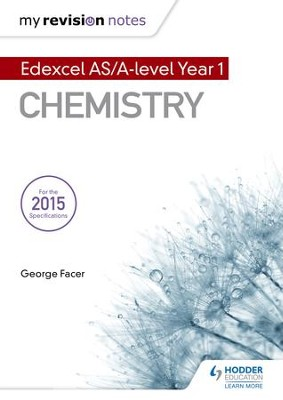 My Revision Notes: Edexcel AS Chemistry / Digital original - eBook  -     By: George Facer