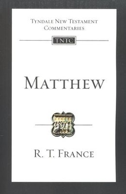 Matthew: Tyndale New Testament Commentary [TNTC]  -     By: R.T. France