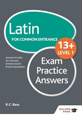 Latin for Common Entrance 13+ Exam Practice Answers Level 1 / Digital original - eBook  -     By: Bob Bass