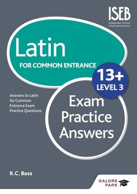 Latin for Common Entrance 13+ Exam Practice Answers Level 3 / Digital original - eBook  -     By: Bob Bass