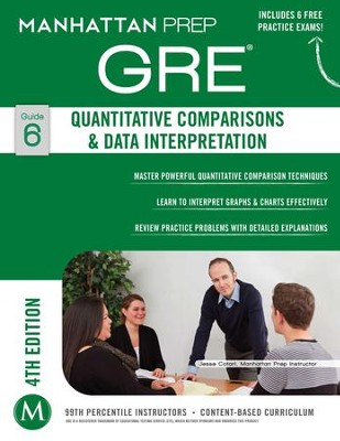 GRE Quantitative Comparisons & Data Interpretation - eBook  -     By: Manhattan Prep
