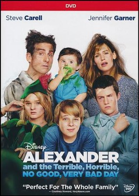 Alexander And The Terrible, No Good, Very Bad Day DVD   -