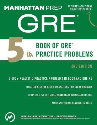 5 lb. Book of GRE Practice Problems - eBook  -     By: Manhattan Prep
