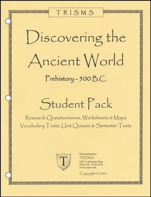 Discovering the Ancient World Additional Student Pack   -