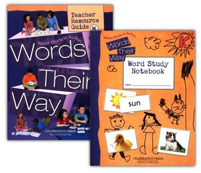 Words Their Way Grade K Homeschool Bundle   -