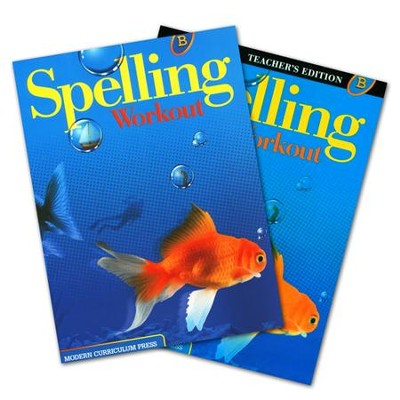Modern Curriculum Press Spelling Workout Grade 2 Homeschool Bundle (2002 Edition)  -