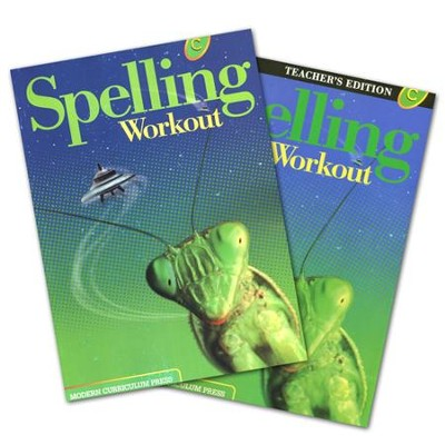 Modern Curriculum Press Spelling Workout Grade 3 Homeschool Bundle (2002 Edition)  -