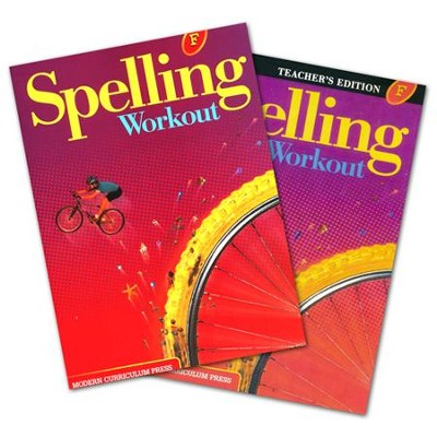 Modern Curriculum Press Spelling Workout Grade 6  Homeschool Bundle (2002 Edition)  -
