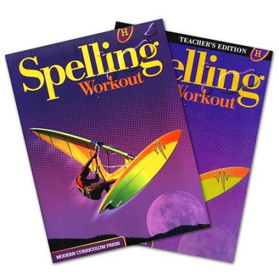 Modern Curriculum Press Spelling Workout Grade 8 Homeschool Bundle (2002 Edition)  -