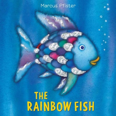 Rainbow Fish Cloth Book #10  -     By: Marcus Pfister