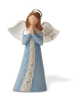 Bless You Angel Figurine  -     By: Kim Lawrence