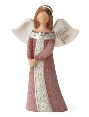 Thank You Angel Figurine  -     By: Kim Lawrence