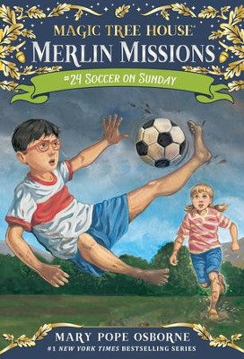 Soccer on Sunday - eBook  -     By: Mary Pope Osborne     Illustrated By: Sal Murdocca