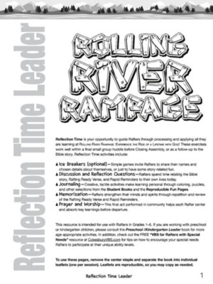 Rolling River Rampage: Reflection Time Leader  -