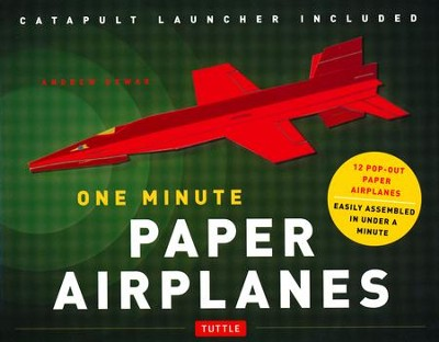 One Minute Paper Airplanes Kit: 12 Fabulous Pop-Out Planes | Easily Assembled in Under a Minute  -     By: Andrew Dewar