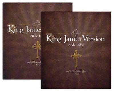 KJV The Complete King James Version Audio Bible On CD unabridged audiobook on CD  -     Narrated By: Christopher Glyn     By: Christopher Glyn (Reader)