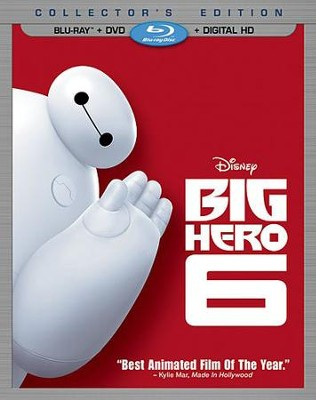 Big Hero 6, Blu-ray/DVD/Digital HD   -