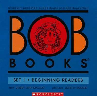 My First Bob Books: Beginning Readers, Set 1   -     By: Bobby Lynn Maslen     Illustrated By: John R. Maslen