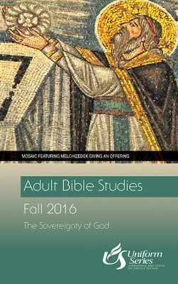 Adult Bible Studies Fall 2016 Student [Large Print]: The Sovereignty of God - eBook  -     By: Simon Peter Iredale