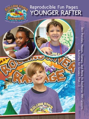 Rolling River Rampage: Younger Elementary Reproducible Fun Pages (Grades Preschool - 2nd)  -